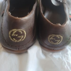 Gucci Men Loafer brown leather 8.5